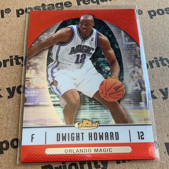 Dwight Howard '07 Topps Finest Card